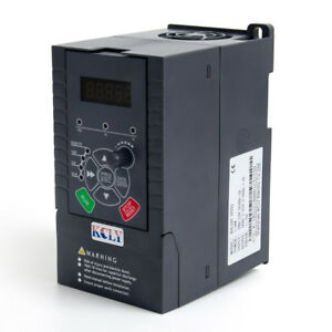 1 5kw 2hp Vfd 7a 220v Single Phase Variable Speed Drive Vsd Drive Inverter
