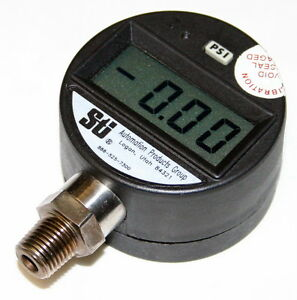 Sti Automation Products Digital Pressure Gauge Model Pg2000 20 00psi