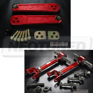 Godspeed Lower Control Arm Front Bolt Rear Camber Kit For Acura Rsx Dc5 02 06
