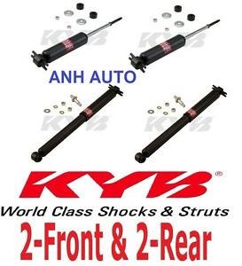4 Of Kyb Excel g Gas Shock Absorber s Chevy El Camino Front Rear