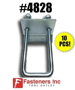 4828 P2785 1 5 8 Beam Clamps For Unistrut B line Channel box Of 10