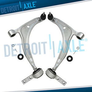 2 Front Lower Control Arms For 2004 2005 2006 2007 2008 Nissan Maxima 3 5l