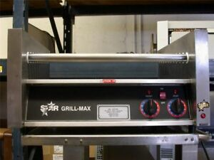 Star 30c Gril max Seal max Commercial Double Hot Dog Roller Machine
