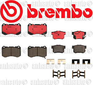 Brembo Front Rear Brake Pads Acura Tl Type S With Bembo Brake System