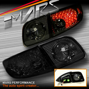 Smoked Led Tail Lights For Mazda 3 4 Doors Sedan 03 09 Bk Series 1