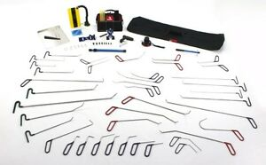 72 Piece Standard Kit Glue Pulling Dent Removal Tools Pdr Paintless Dent Repair