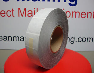 Tabs Wafer Seals Roll Of 4 000 Tabs 1 5 For Table Top Tabber 1 1 2 Mailing Tab