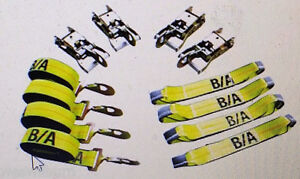 38 200sh Ba 8 Point Product Rollback Tiedown System Flatbed Tow Truck Snap Hook