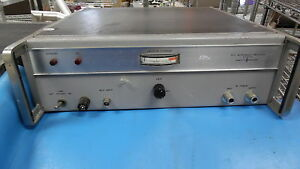 Hp 491c Microwave Amplifier 2 0 4 0 Ghz