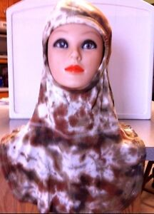 Nomex Blend Firefighting Protective Hood Tie dyed Desert Camo