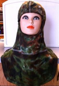 Nomex Blend Firefighting Protective Hood Tie dyed Green Camo