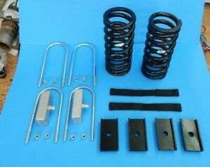 New Mgb 1975 1980 Rubber Bumper Deluxe Lowering Kit W Front Springs Straps Etc
