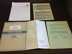 Hach User Manual 1720c 1720e Low Range Turbidimeter Instruction Manual Etc 129