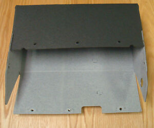1957 Chevy Glove Box Card Board Liner With Hardware Usa Made