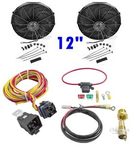 Fan Relay Kit Dual12 Electric Champion Cooling Systems Ca