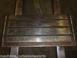 30 X 14 Steel Welding T slotted Table Cast Iron Layout Plate T slot Weld Jig