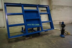 Powered Hydraulic Table System For Bridge Saw made In Usa 7 650