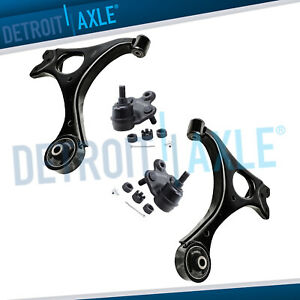 2006 2011 Honda Civic Acura Csx New 4pc Front Lower Control Arm Set Ball Joints