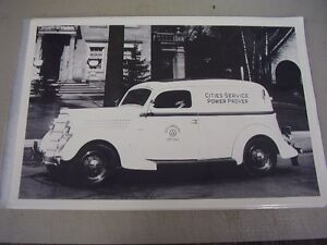 1935 Ford Sedan Delivery Cities Service Truck 12 X 18 Large Picture Photo