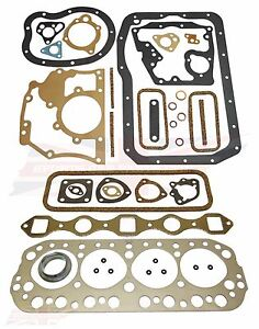 New Head And Lower Engine Gasket Set Mgb Gt 5 Main Bearing Engine 1975 1980