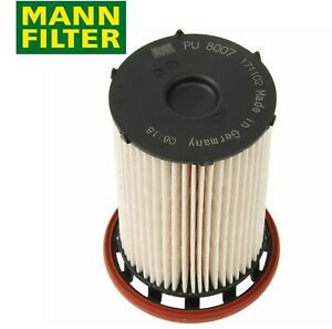 For Vw Touareg Tdi 2011 2014 Fuel Filter Mann Pu 8007 7p6 127 177 A