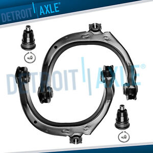 4pc Front Upper Control Arms Ball Joint For 02 09 Chevy Trailblazer Gmc Envoy