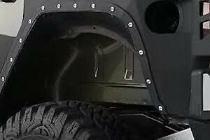 Smittybilt 2007 18 Jeep Wrangler Unlimited Jk Xrc Full Rear Corner Armor 76881