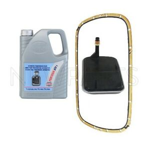 For Set Of 5 Liters Automatic Transmission Fluid W Filter Kit For Bmw E46 E39