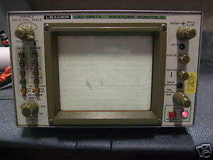 Leader Lbo 5861a Waveform Monitor
