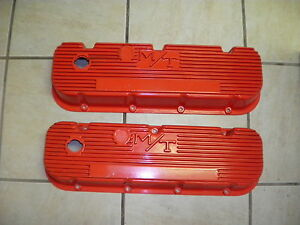 Vintage Mickey Thompson Aluminum Valve Covers 454 Chevy Gmc P N 140r 48b
