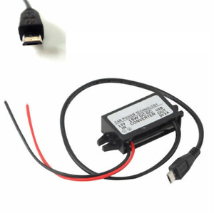 Car Charger Dc Converter Module 12v To 5v 3a 15w With Micro Usb Cable