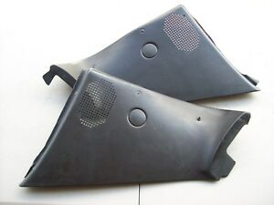 Porsche 968 944 S2 Cabriolet Convertible Black Rear Speaker Quarter Panels