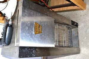 Hatco Toast King Tk 4p Commercial Restaurant Conveyor Toaster Tested 208 Volts