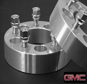2 Pc Gmc Jimmy 5x4 75 Wheel Adapter Spacers 1 25 Inch Free Ship 5475b1215