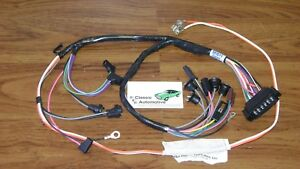 Console Wiring Harness Made In Usa 68 69 Camaro Automatic Transmission W gauges