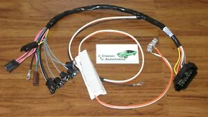 Console Wiring Harness Made In Usa 68 69 Camaro Manual Transmission W Gauges