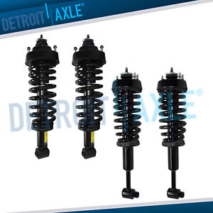 2002 2003 For Ford Explorer Mercury Mountaineer Front Rear Struts 4 0l 4 6l