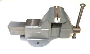 Wilton 10103 4 Machinists Bench Vise With Stationary Base Made In The Usa