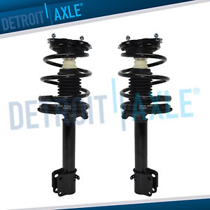 2 Rear Strut W Spring For 1995 1996 1997 1998 1999 Plymouth Dodge Neon