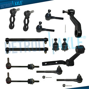 New 14pc Complete Front Suspension Kit For 1998 2002 Ford Crown Victoria 4 6l