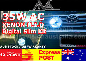 35w H1 Ac Hid Xenon Kit Slimline Lightforce 140 170 240 Spot Driving Lights