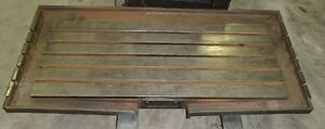 70 X 33 X 11 T slot Steel Welding 5 T slotted Table Cast Iron Layout Plate