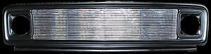 1969 1972 Chevy Pickup Primed Steel Grille With 8mm Billet Insert Chevy Only