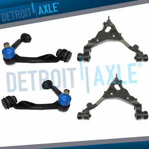 Front Upper Lower Control Arm Ball Joint Kit For 1997 1998 2003 Ford F 150 4wd