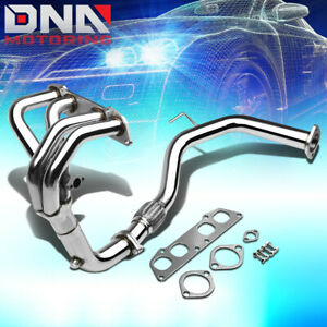 Stainless Steel 4 1 Header Flex For 90 95 Mr2 2 2 L4 Non Turbo Exhaust Manifold