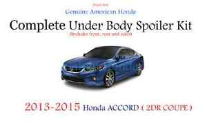 Genuine Oem Honda Accord 2dr Coupe Complete Under Body Kit 2013 2015 Nh 797m