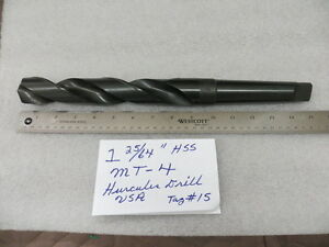 1 25 64 High Speed 4 Morse Taper Drill Bit New Usa