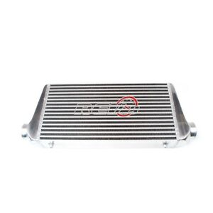 Universal Spec r Turbo Aluminum Intercooler 800hp 3 Inlet Outlet 24 x4 x12