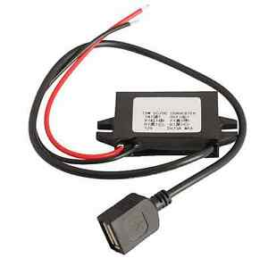 New Car Led Display Usb Power Supply 12v To 5v 3a Car Power Dc dc Converters