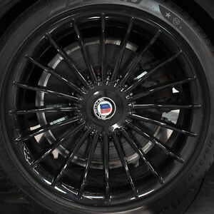 Bmw F01 F02 7 Series 2009 Alpina Oem Classic Black 21 B7 Wheel